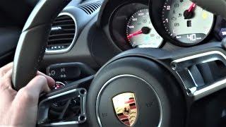 Porsche Boxster 0-200 km/h & Exhaust Sound Acceleration TEST