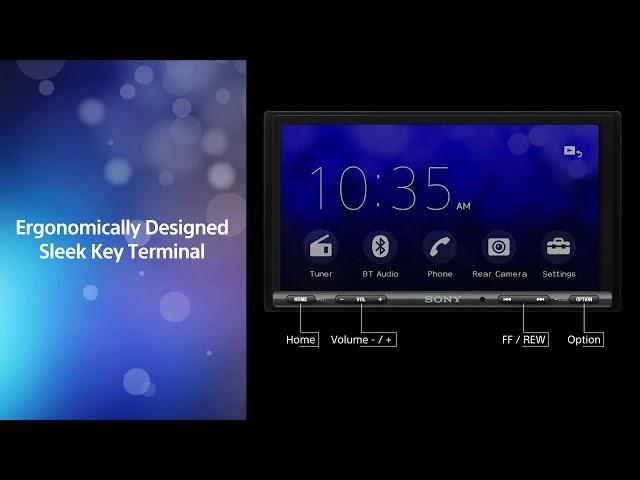 SONY XAV-AX3000 AndroidAuto/CarPlay 지원 Car AV system