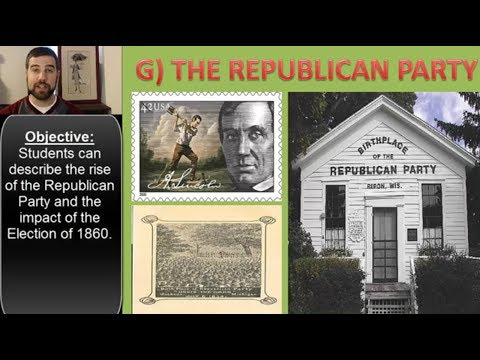The Republican Party and the Election of 1860