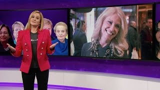 The Great Feminists in Feminism Herstory Hall of Lady Fame | Full Frontal with Samantha Bee | TBS by : Full Frontal with Samantha Bee