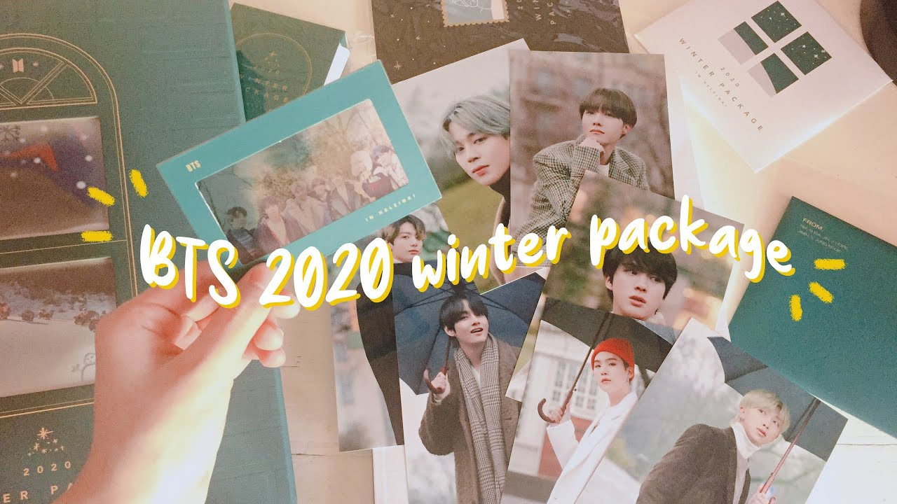 unboxing bts 2020 winter package ❄️☃️ || by Cara