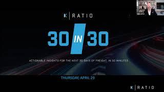 K-Ratio's 30 in 30 May Webinar
