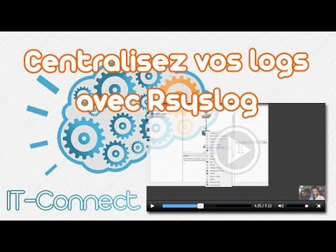 Centralisez vos logs avec Rsyslog | Services | IT-Connect