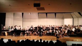 Combined 7-12 Concert Ensembles perform 'The Lion King' arranged by...