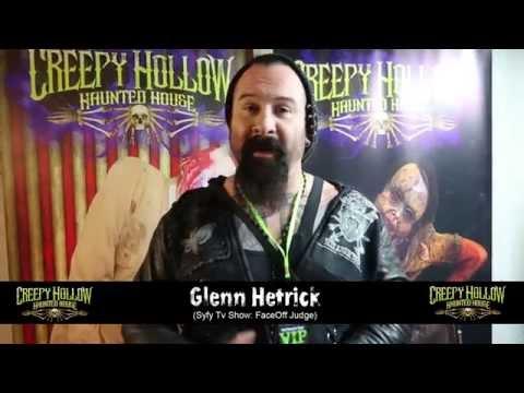 Glenn Hetrick experience at Creepy Hollow haunted house
