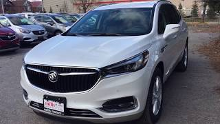 2019 Buick Enclave AWD 3.6L Heated Steering Navigation Sunroof White Oshawa ON Stock #190135