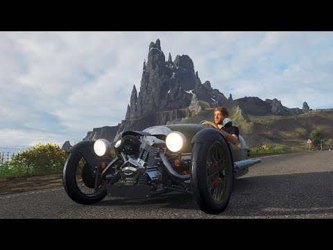 Forza Fortune Island - Part 3 - Morgan Three-Wheeler (WTF 😂)