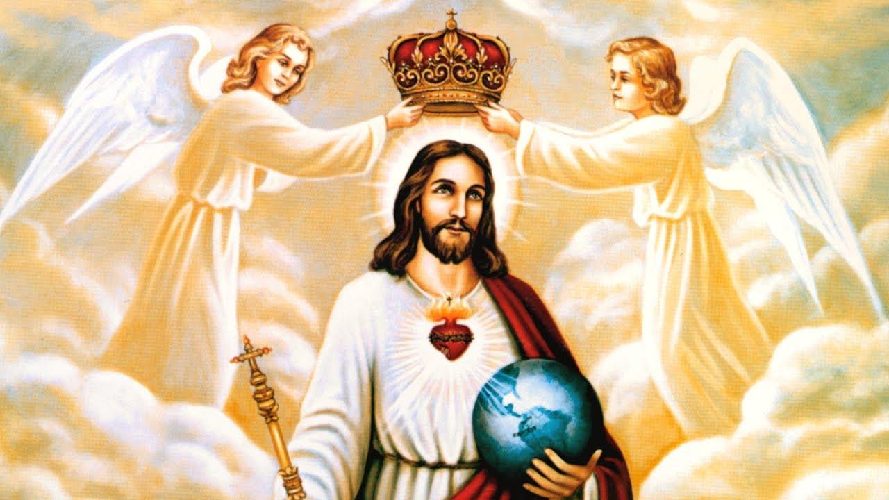 Sermon de l'abbé Beauvais sur le Christ Roi - YouTube