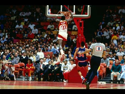 Dominique Wilkins Scoring Highlights