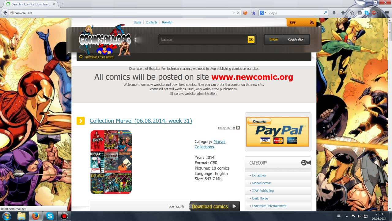 Download All Comics For Free (No Torrent)
