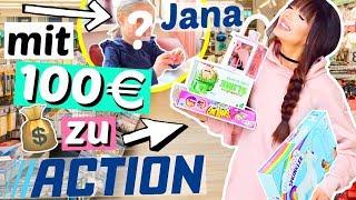 Was bekommt man für 100€ bei ACTION? 💰Billig-Laden | ViktoriaSarina