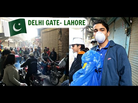 CLEANING UP DELHI GATE, LAHORE!