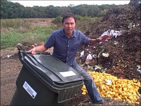 How Compost & Worm Castings are Made with Food Scraps & Wood Chips