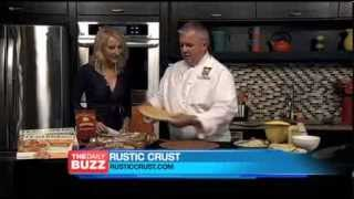 Rustic Crust Ceo Brad Sterl On The Daily Buzz -  Reuben Pizza