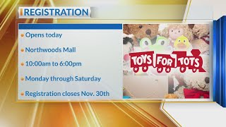 Toys For Tots Registration Opens Monday