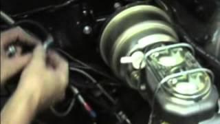 Offset Master Cylinder Brake Booster Installation