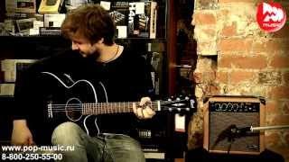Комбик для акустической гитары STAGG 10 AA(Компактный и очень доступный по цене, комбоусилитель для акустической гитары STAGG 10 AA https://goo.gl/JTQC9o позволит..., 2013-10-16T11:29:04.000Z)