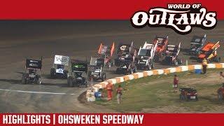 World of Outlaws Craftsman Sprint Cars Ohsweken Speedway July 25, 2017 | HIGHLIGHTS