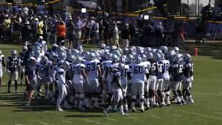 Dallas Cowboys Blue vs White scrimmage 8/5/18
