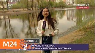 Москвичам напомнили, где можно жарить шашлыки - Москва 24