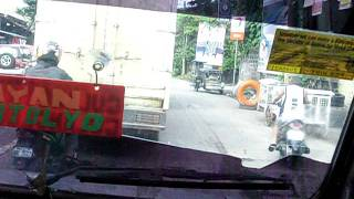 Jeep ride from town to home in Lucena City December 27, 2011