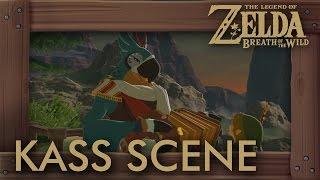 Zelda Breath of the Wild - Secret Kass Cutscene (Final Song)