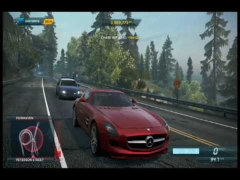 need for speed most wanted review wii u ps3 xbox 360. Black Bedroom Furniture Sets. Home Design Ideas