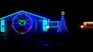 World of Color - Magical Holiday Moments 2010 Christmas Lights