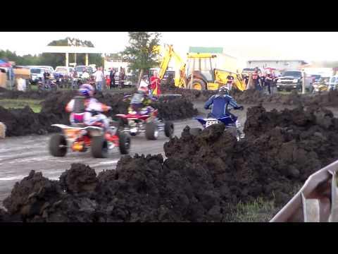 Overbrook Ks ATV Pro flat track race