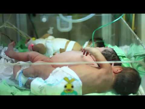"Video: Gaza hospitals warn of ""catastrophe"""