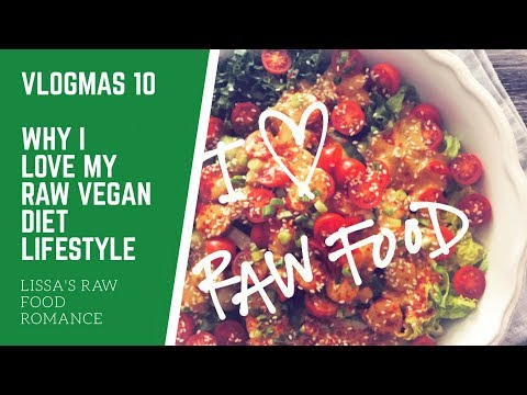 VLOGMAS 10 || WHY I LOVE MY RAW FOOD VEGAN DIET AND LIFESTYLE || WEIGHT LOSS HEALTH