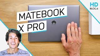 È QUASI PERFETTO | Huawei Matebook X Pro RECENSIONE