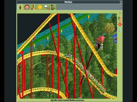 RollerCoaster Tycoon 2 - giga coaster