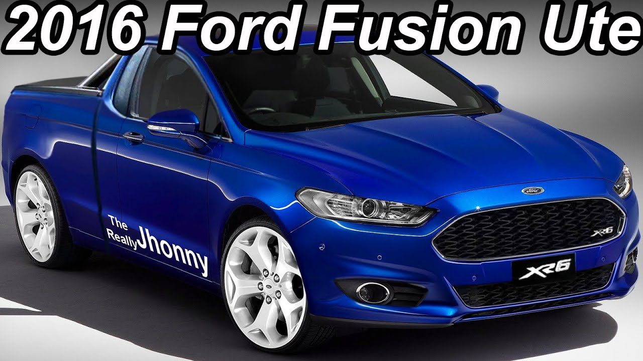 2016 TherReallyJhonny Ford Fusion Ute Edition - YouTube