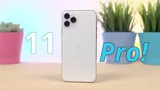 iPhone 11 Pro (Silver) Pierwsze wrażenia + Rozpakowanie