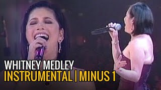 """The arrangement of this instrumental version whitney houston medley is one that regine velasquez used in her """"reflections"""" concert 2005. i uploaded..."""