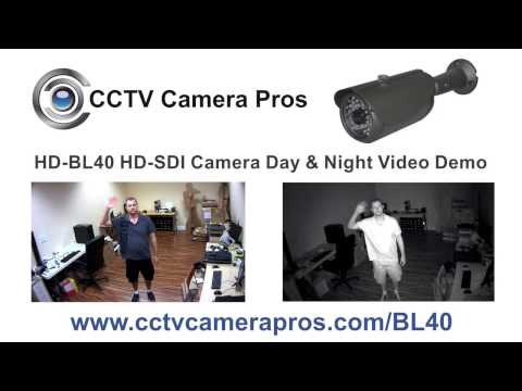 HD-BL40 Bullet HD-SDI CCTV Camera Day & IR Night Vision Surveillance Video