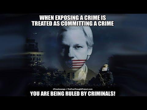 Tea with Julian Assange, editor of Wikileaks