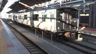 【朝の区間列車】鹿児島本線 817系 普通玉名行き 熊本駅発車