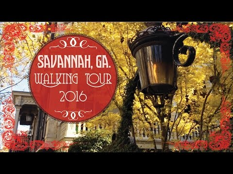 Savannah, Ga. Walking Tour Vlog