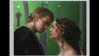 Padme and Anakin Speed Paint (Time Lapse Video)