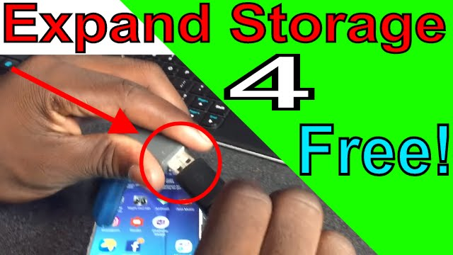 How To Get More Phone Storage External Memory From Flashdrive For Free Android Fixed