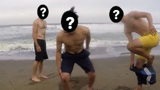 Why would you swim in freezing ocean water?