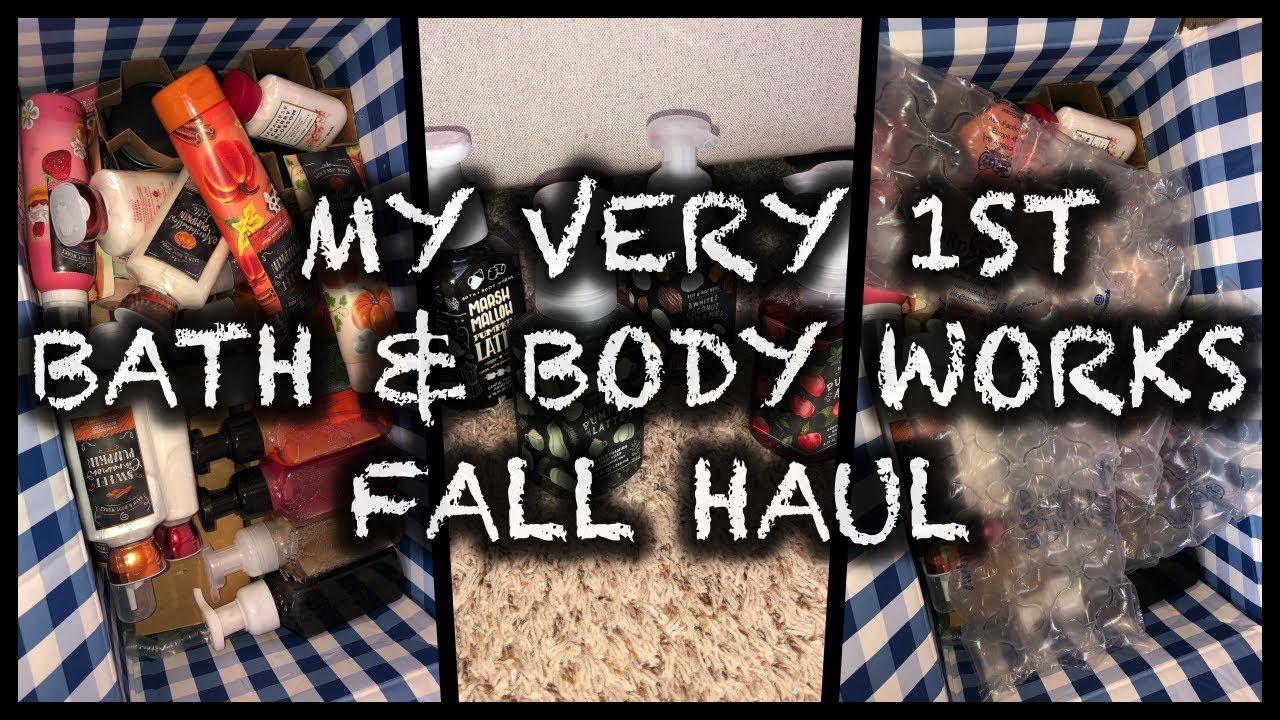 MY VERY 1ST BATH & BODY WORKS🍂 FALL 🍂HAUL #1   FARMHOUSE CAFE COLLECTION