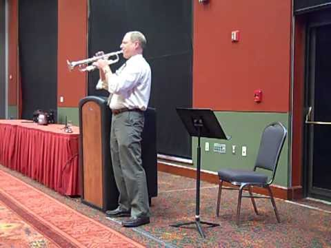 ATSSB All State Trumpet (Year C) Slow Etude Performance