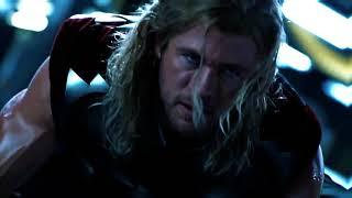 thor // lightning then the thunder