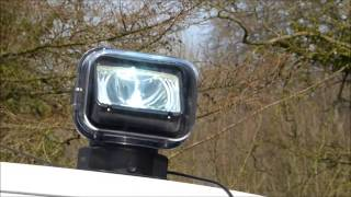 Durite 0-537-72 Remote Controlled Searchlight