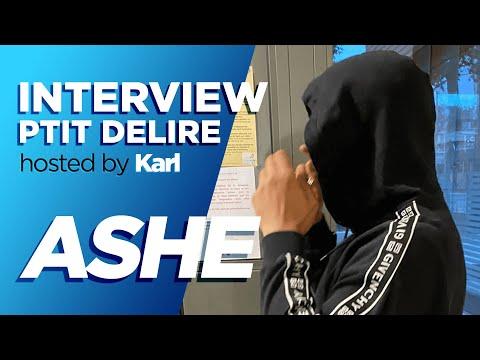 Youtube: ASHE » J'ai pris 4 ans ferme » – Interview Ptit Délire
