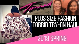 5cf68626b7b Spring 2018 - Torrid fashion plus-size try on haul