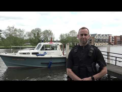 River patrols with the Environment Agency